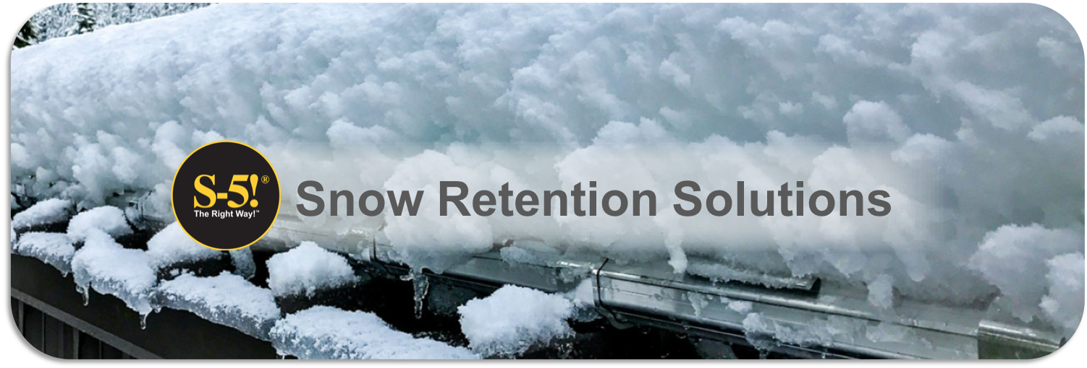 Snow Retention Landing Page Header