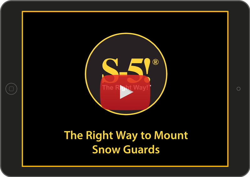 Video - The Right Way to Mount Snow Guards-1